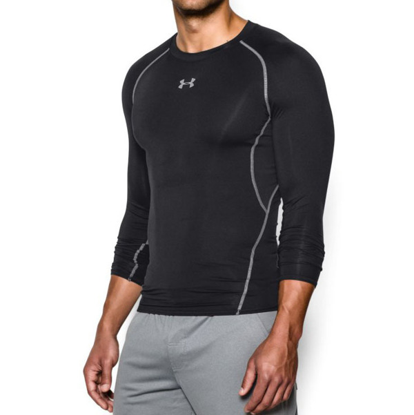 Under Armour Rashguard HG ARMOUR Czarny